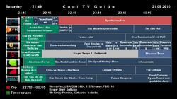 Cool TV Guide Screenshot