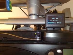 Display im Plastikgehäuse (Bild von Handycracker2k2)