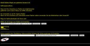 dFlash Webinterface