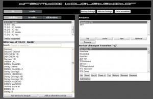 Web-Bouquet-Editor für Enigma2