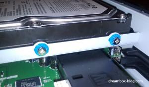 Einbau einer 3,5''-Festplatte