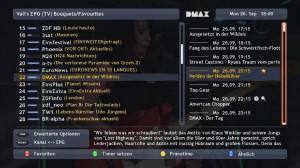 Valis EPG (Screenshot von vali)