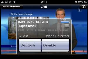 iStreamGate: Mehrere Audio-Kanäle und Untertitel werden unterstützt