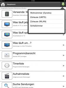 DAC HD 4.0: Auswahl mehrerer Dreamboxen