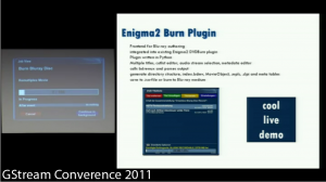 Gstream Conference 2011 (Screenshot)