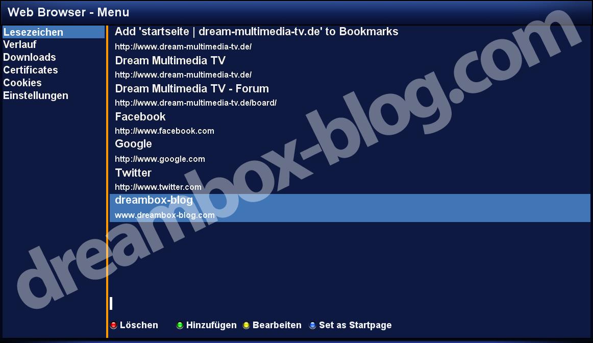 Dreambox News-Vjesti vezane za E2 recivere OE 2 0