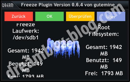 Freeze Info
