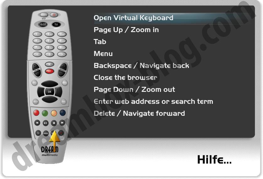 HbbTV-Helpscreen