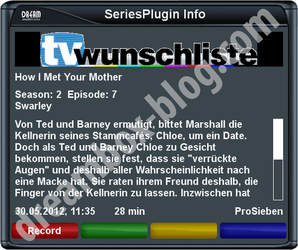 Series-PlugIn Info