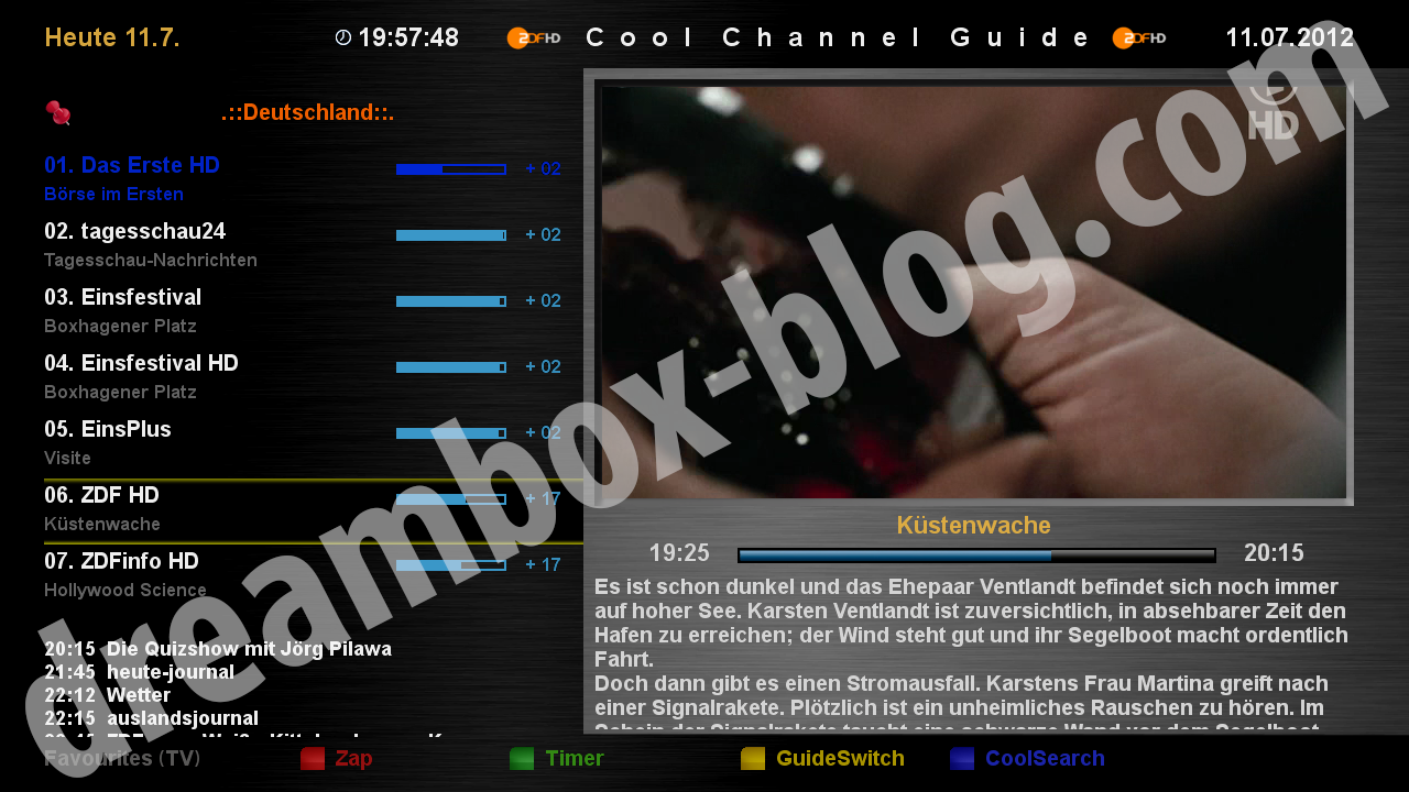 Cool Channel Guide