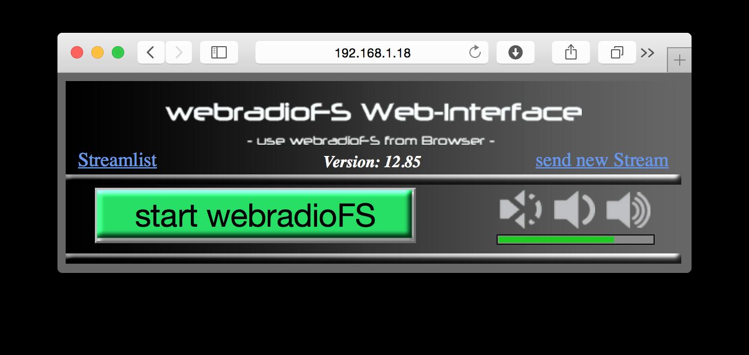 webinterface_start