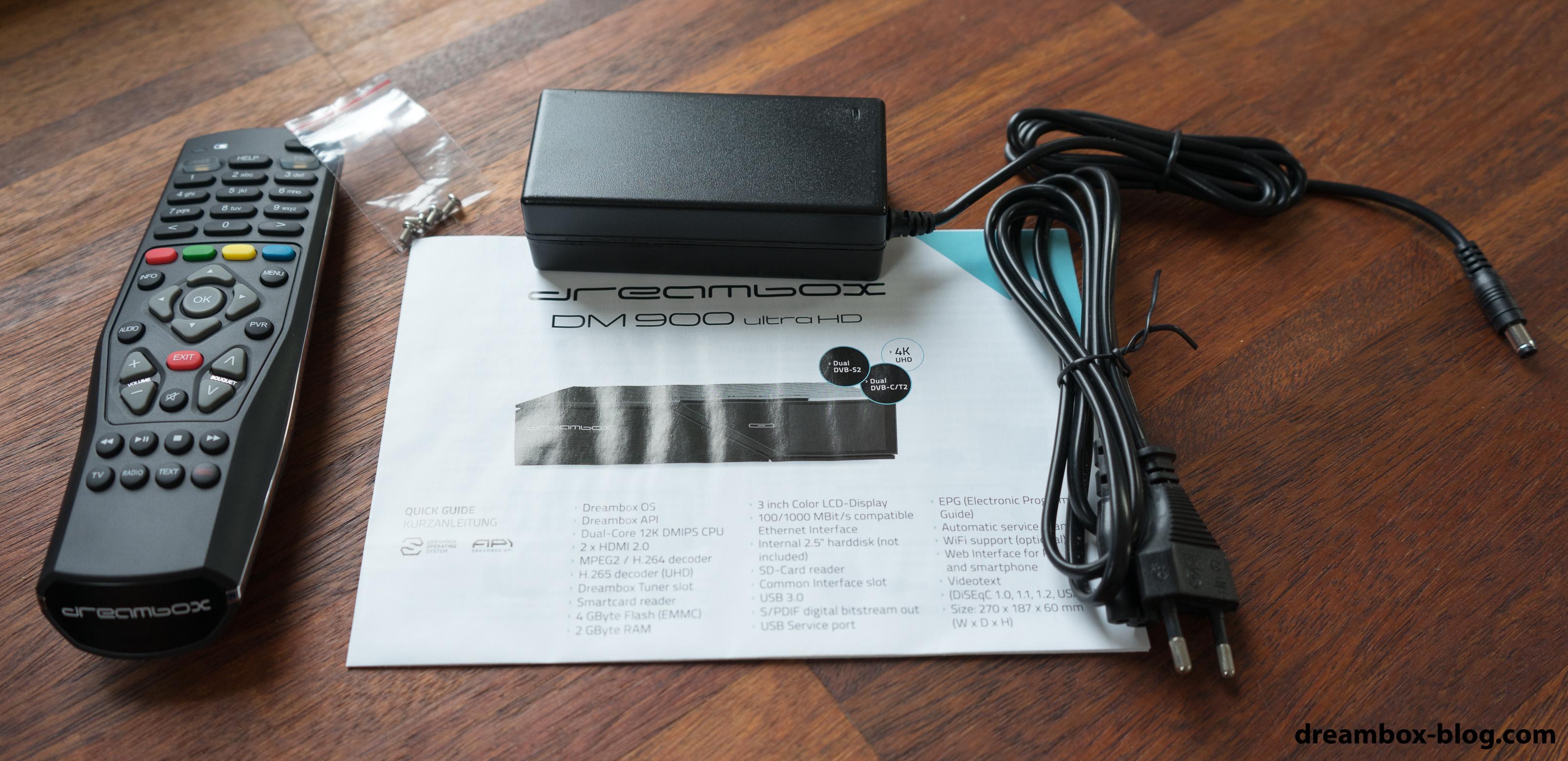 Die ersten Eindrücke der DM900 UHD › Dreambox Blog